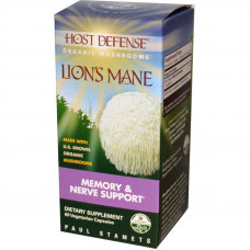 Lions Mane - Memory & Nerve Support - 60 capsules