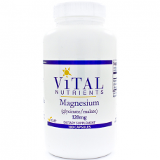 Magnesium (glycinate/malate) 120mg - 100 capsules